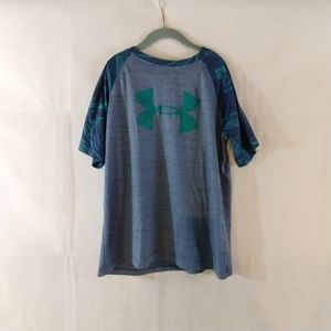 Under Armour T-Shirt - Blue - Youth Large